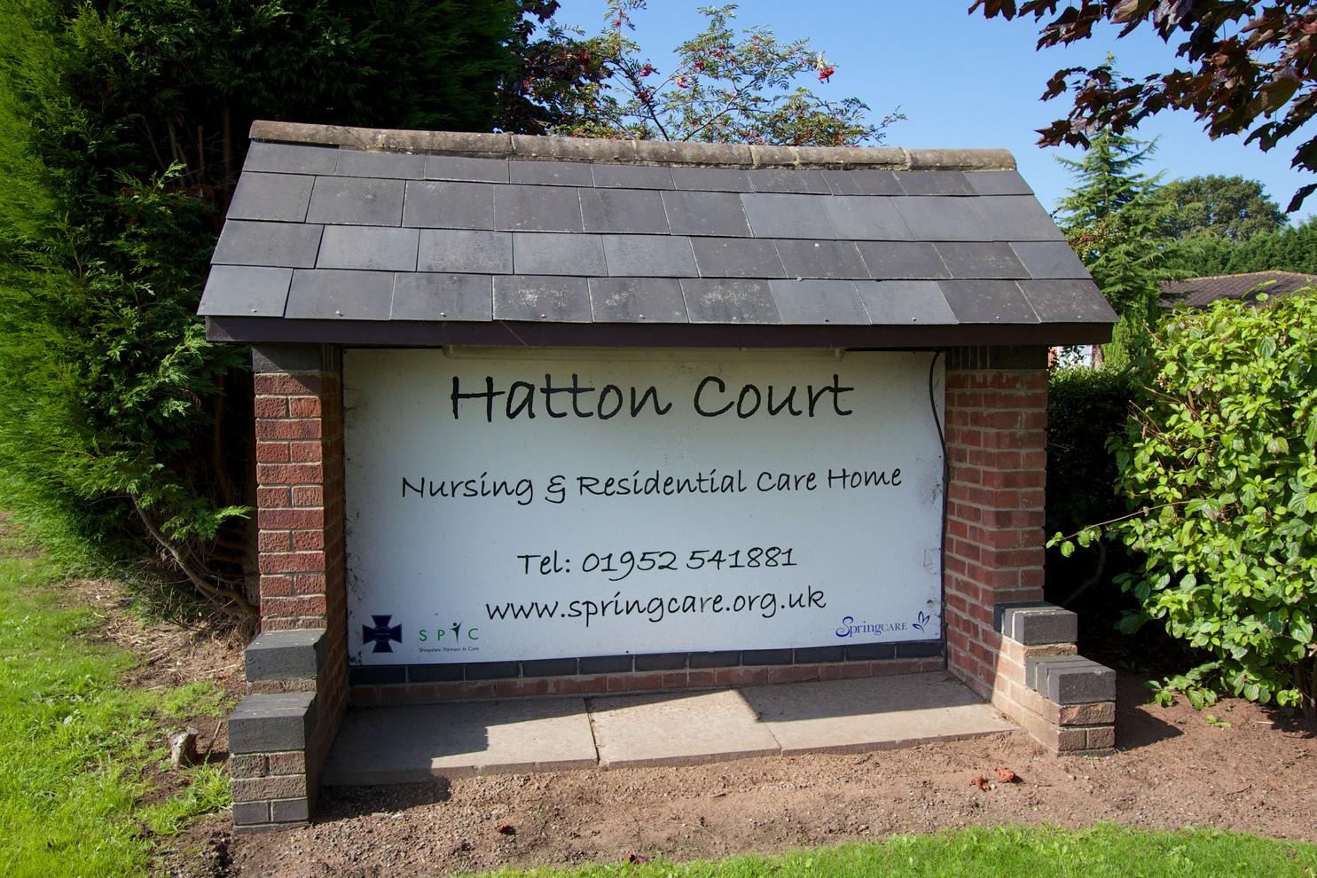 Hatton Court Care Home Shropshire